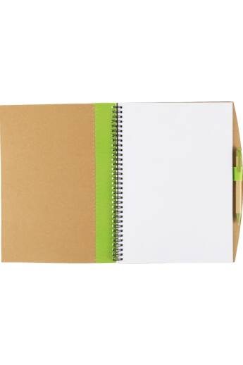A/4 újrahasznosított füzet tollall