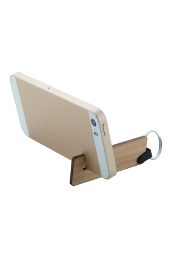 Mobiltelefontartó kulcstartó