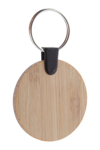 Bambusz furnér kulcstartó