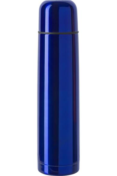 Kék reklámajándék termosz