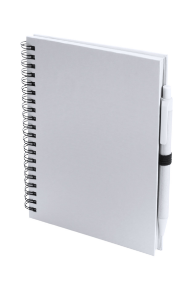 Karton borítású A5-ös, 70 sima lapos spirál jegyzetfüzet